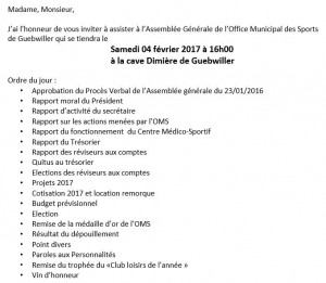 Capture - Office municipale des sports ...